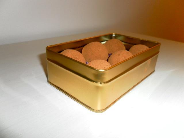 Cointreau Chocolate Truffles