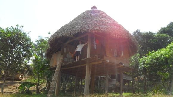 Embera-Wounaan village in Colon Province, Panama