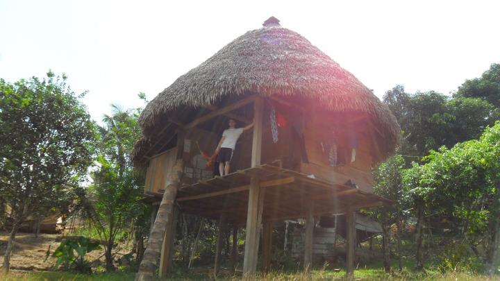 Embera-Wounaan village in Colon Province, Panama