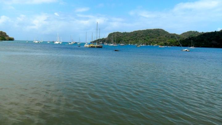 Ocean-view from Batteria Santiago, Portobello, Panama