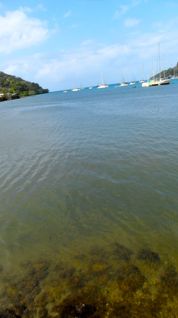 Caribbean waters, Portobello, Panama