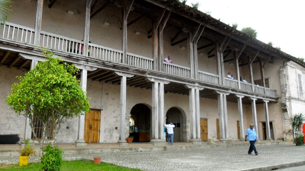Close-up of Spanish Customs House, Portobello