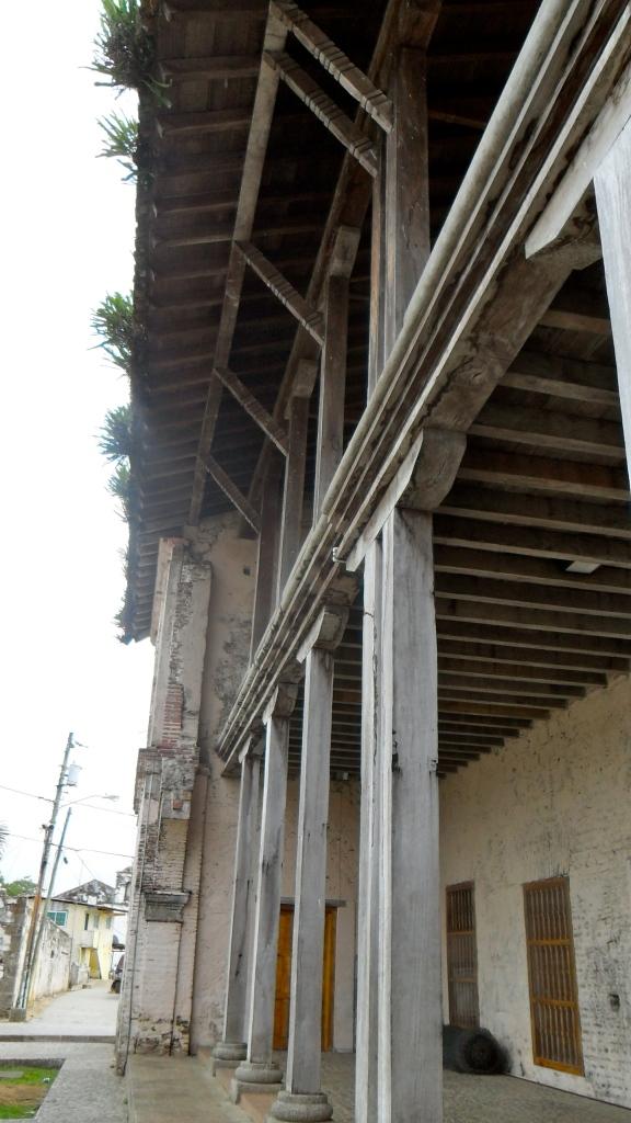 Angled Profile of Spanish Customs House, Portobello