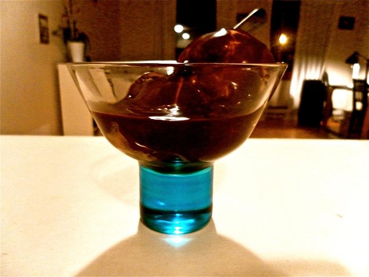 Homemade Dark Chocolate Topping