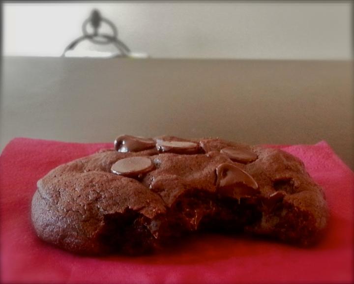 Healthy dark chocolate cookies