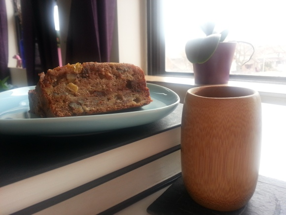 Banana bread with rum raisins