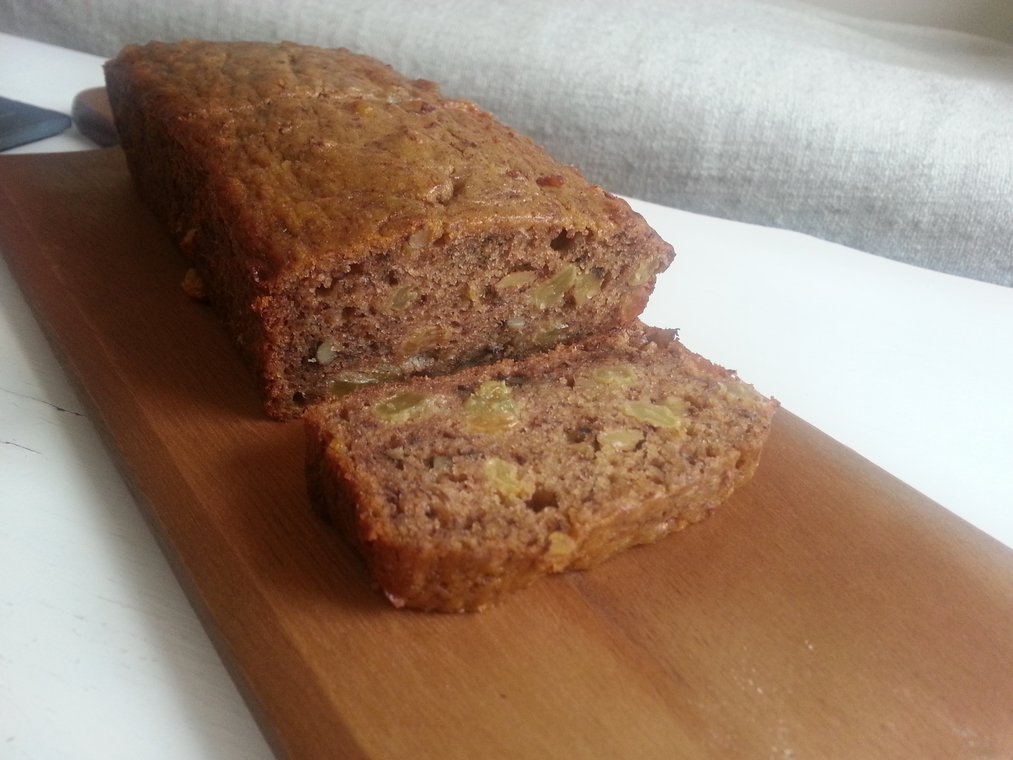 Delicious soft, dense Banana Bread