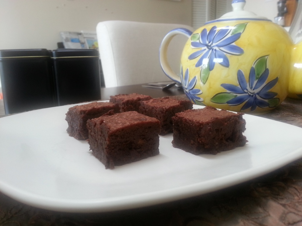 Almond meal brownies