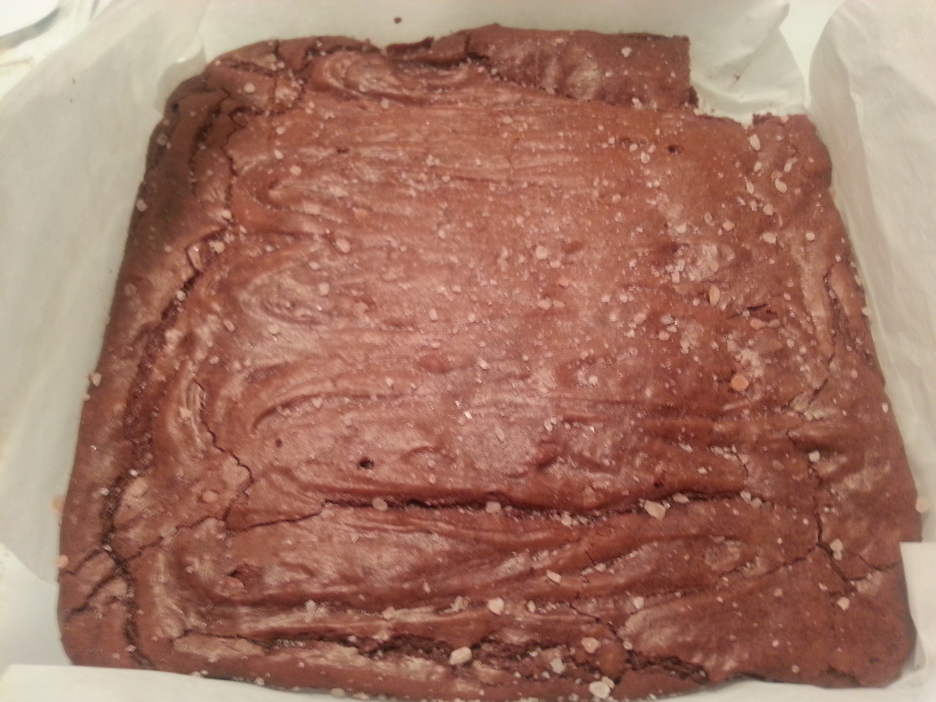 Himalayan Salt Brownies