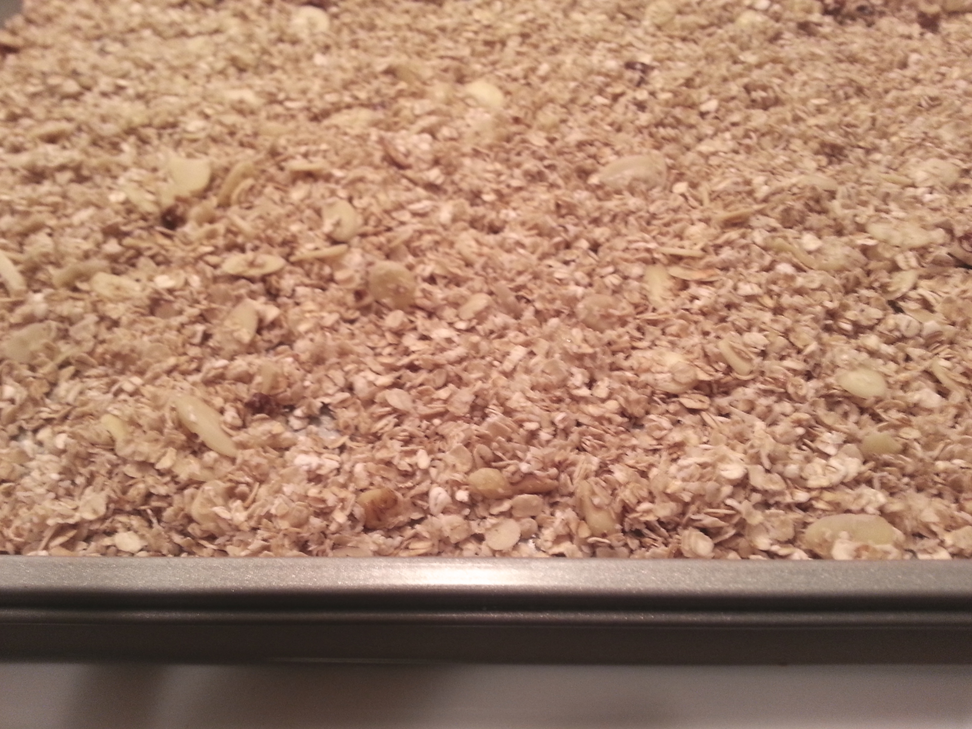Coconut Cranberry Granola Recipe