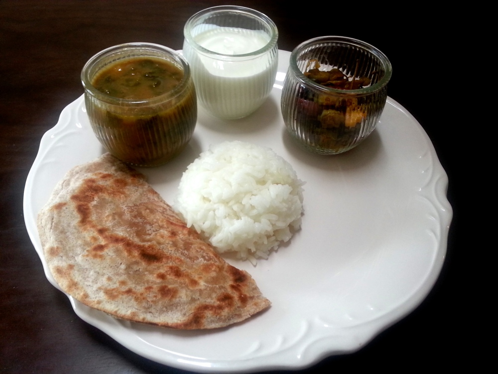 Dondakaya Vepudu in South Indian Meal