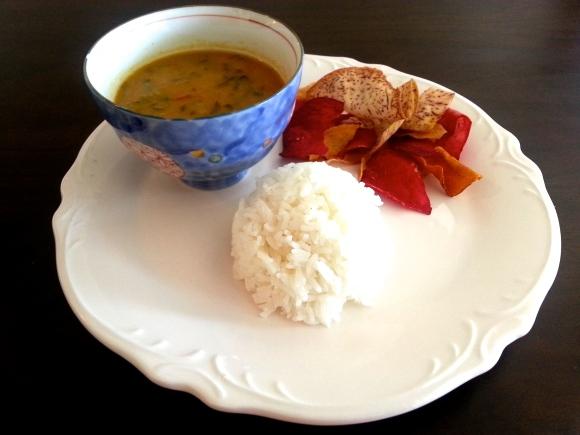 Palakoora pappu, palak pappu, palak pulusu, palak dal, spinach dal, lentil soup