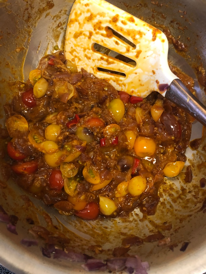 Onion-tomato masala for Indian cooking